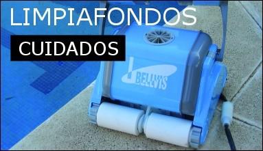 Mantenimiento de los limpiafondos automáticos de piscinas
